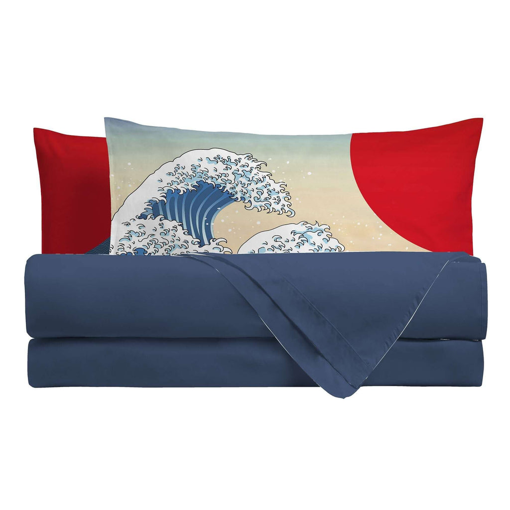 Completo Letto Digitale Singolo Sakura Wave - Amo La Casa Shop