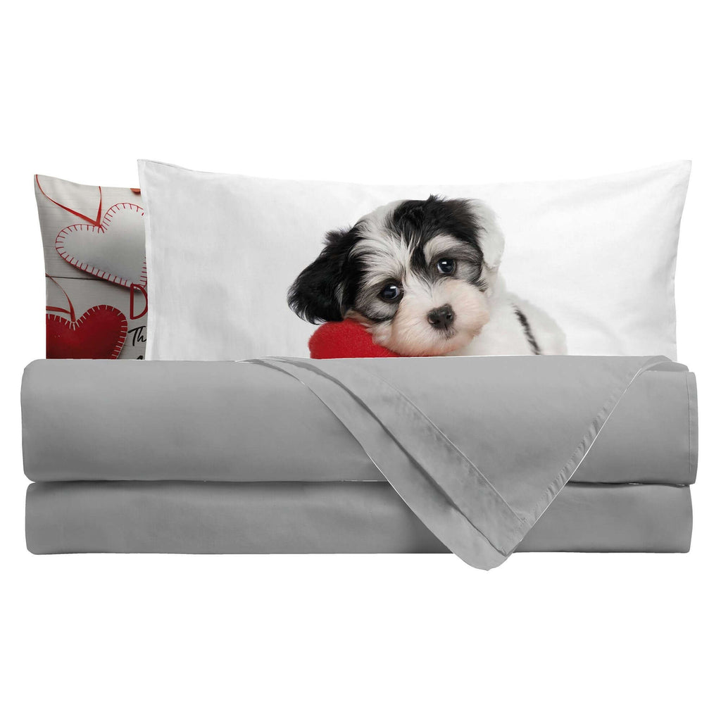 Completo Letto Digitale Matrimoniale Dog