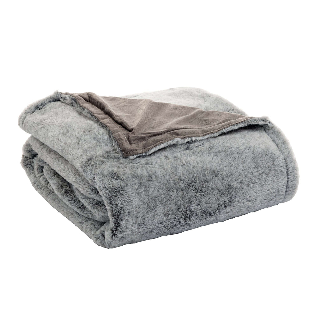 Coperta Faux Fur 250X200 Marrone - Amo La Casa Shop