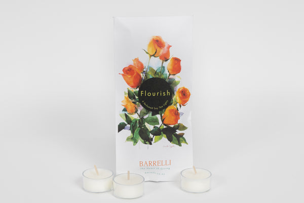 Flourish – Six Perfumed Soy Tea Lights