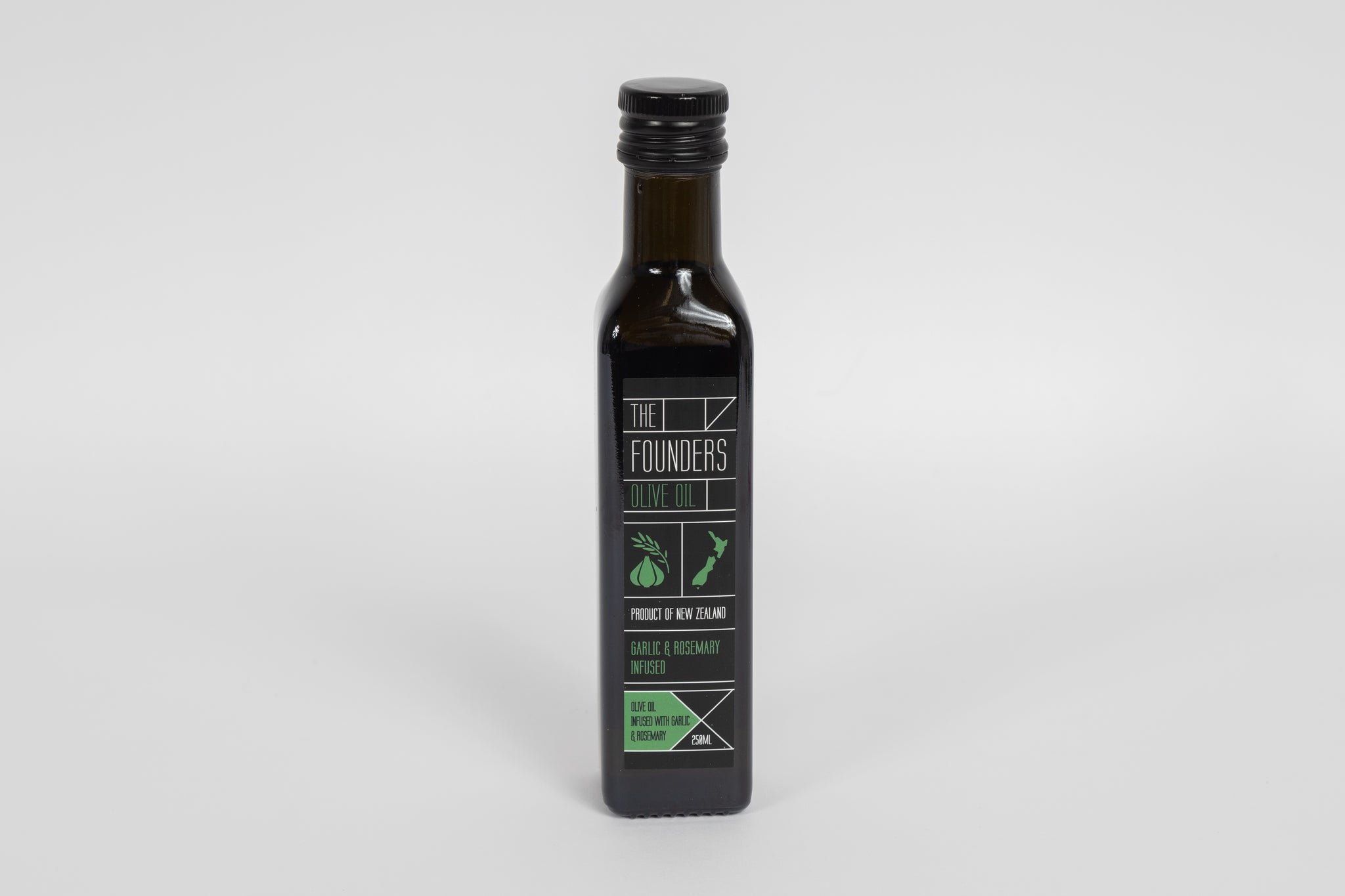The Founders – Garlic and Rosemary infused Olive Oil