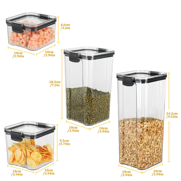 pawaca F0-4042 Food Storage Containers