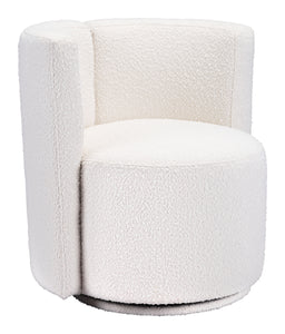 Harley Curved Chair - White