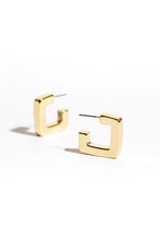 Sonja Square Hoop Earring - Gold