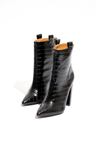 Nightfall Croc Boot - Black