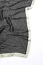 Jord Scarf - Black Stripe