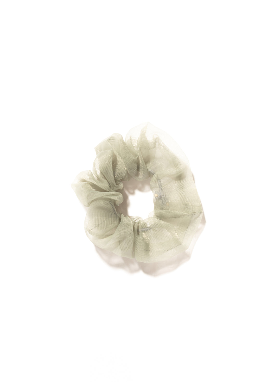 Sweet Pea Hair Scrunchie - Olive