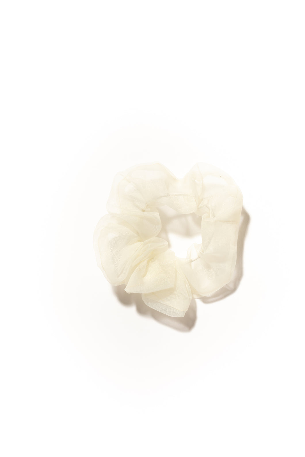 Sweet Pea Hair Scrunchie - Cream