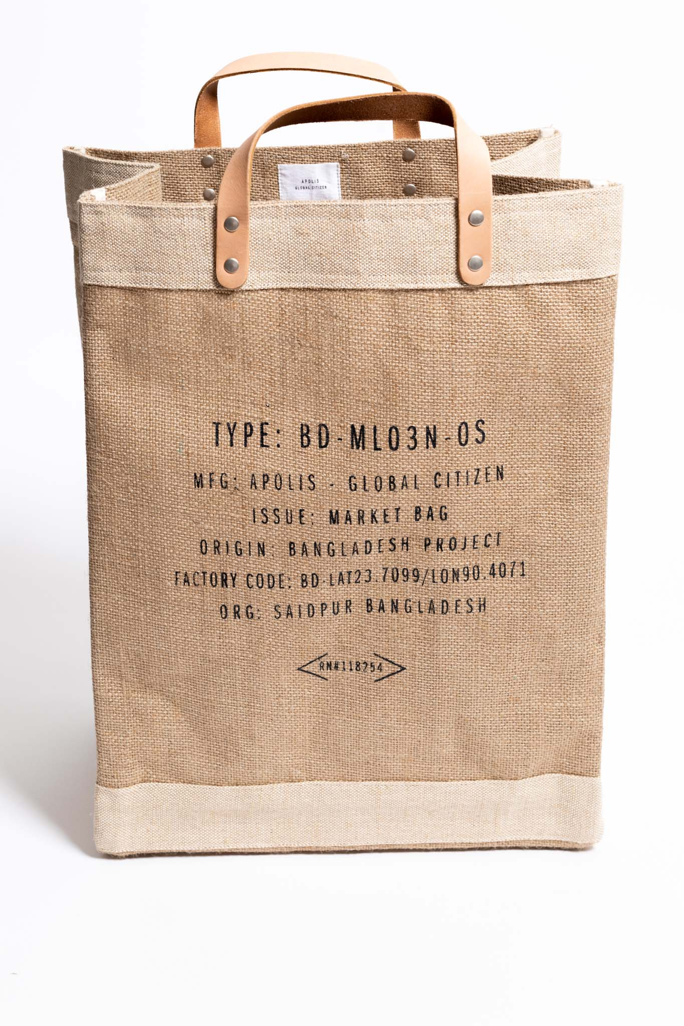 Organic Desert Living Market Bag - Apolis