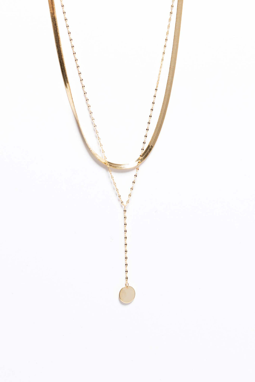 Chels Layered Necklace - Gold