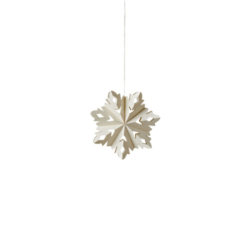 Marquis Snowflake Ornament - Small