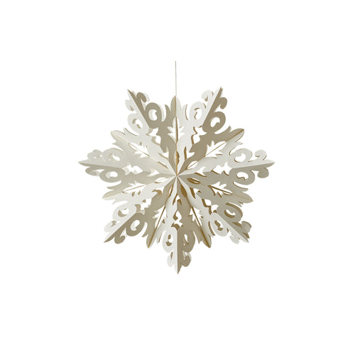 Dazzle Snowflake Ornament - Medium
