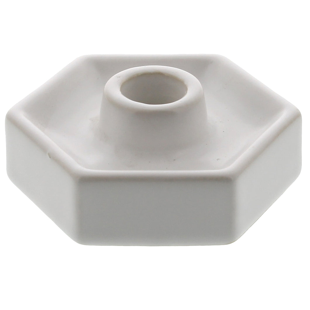Hexagon Ceramic Tapper Holder