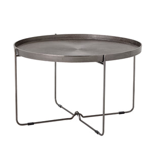 Beckham Round Metal Coffee Table