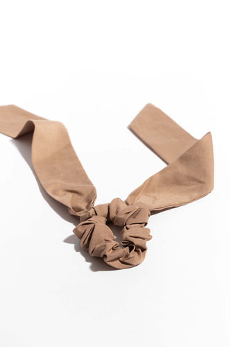 Lucie Scarf Pony - Taupe