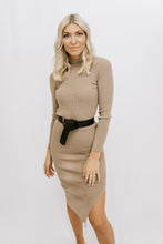Load image into Gallery viewer, Charla Midi Dress - Taupe