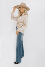 Amelea Wide Leg Jean - Denim