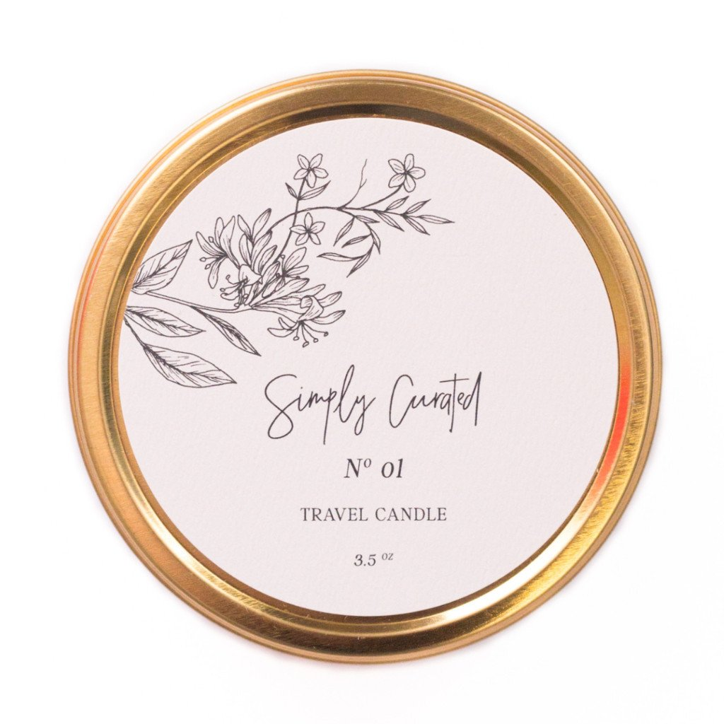 Botanical Collection No. 01 Soy Candle - Travel size 3.5 oz