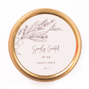 Botanical Collection No. 04 Soy Candle - Travel size 3.5 oz