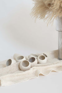 Dorsett Dried Natural Bell Cup in Bag - Whitewash Finish
