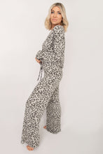All Nighter Animal Tunic Top + Pant Lounge Set - Grey