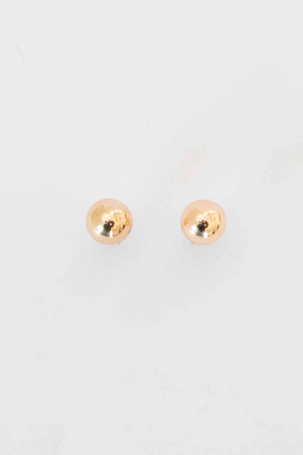 Everyday Ball Stud Earrings - Gold