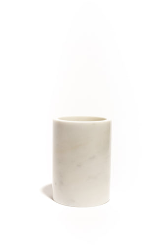 Through The Grapevine Marble Wine Chiller - White