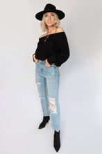 Braxton Ripped Distressed High Waisted Boyfriend Jeans