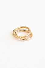 Lana Linked Band Gold Cuff Ring