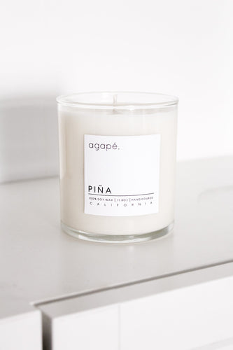 Piña Candle - Agape Candles - 11 oz
