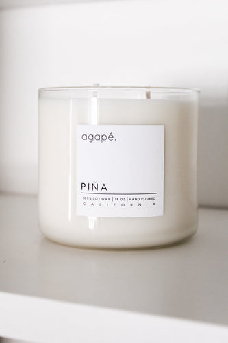 Piña Candle - Agape Candles - 18 oz