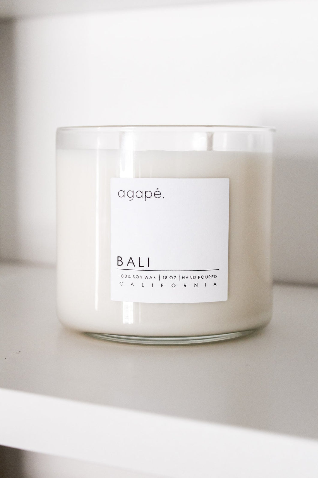 Bali Candle - Agape Candles - 18 oz