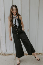 Zina Overall Button Down Jumpsuit with Pockets