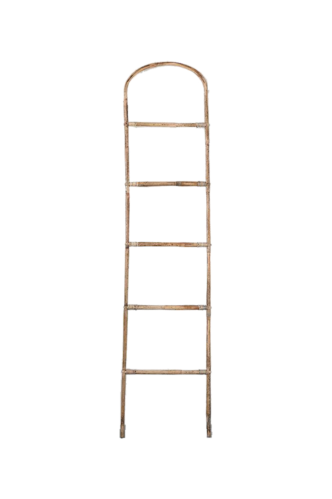 Francis Decorative Bamboo Ladder- WAREHOUSE PICKUP ONLY