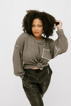 Load image into Gallery viewer, Eldie Waffle Knit - Charcoal - More Sizes