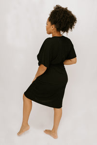 Korina Dress W Belt - Black