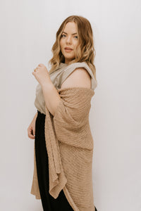 Emorie Knit Cardigan - Taupe