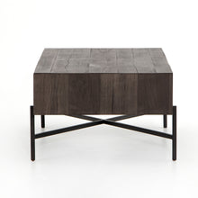Adare Rectangular Coffee Table - Distressed Grey