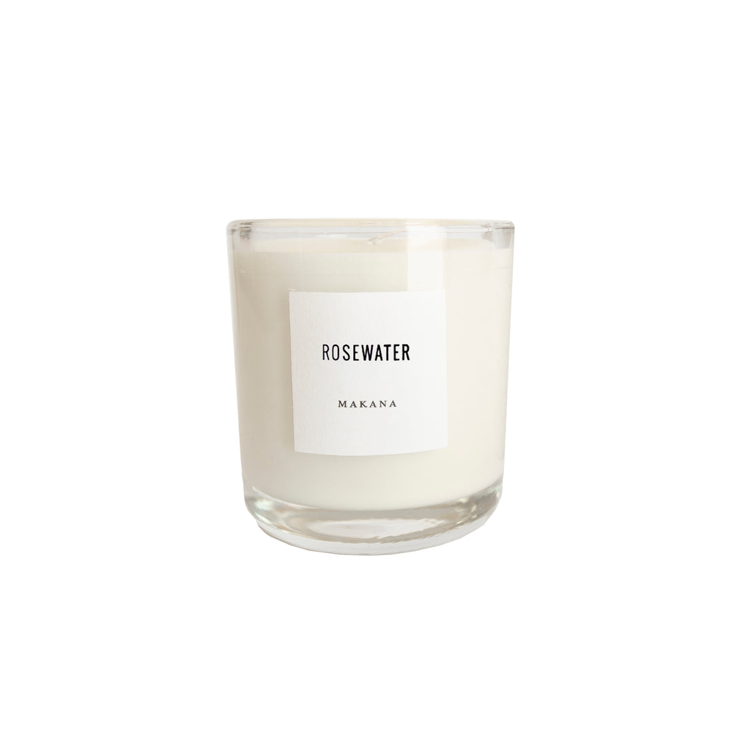 Rosewater Classic Candle