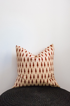 Vegetable Dye Ikat Pillow