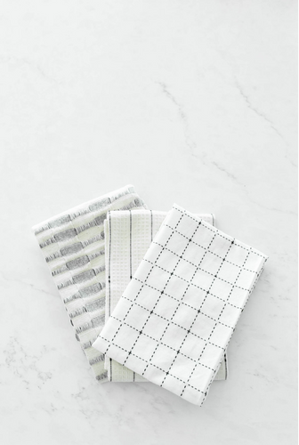 Becker Geometric Cotton Tea Towels