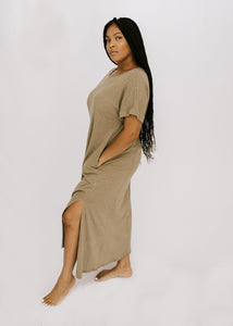 Vineyard Maxi Dress - Olive