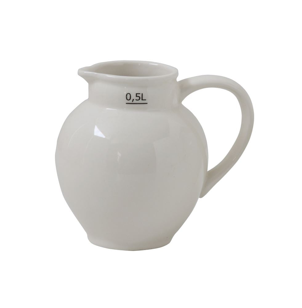 Vintage Inspired Ceramic Pitcher