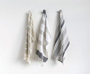 Laef Cotton Striped Tea Towel