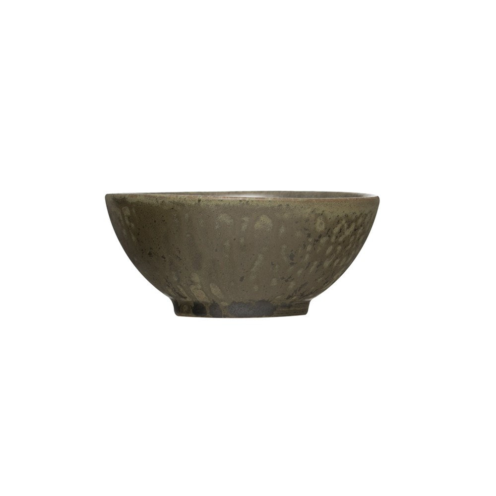 Cannon Stoneware Bowl w/ Reactive Glaze - Blue + Green