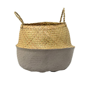 Sea Grass Belly Basket- Large