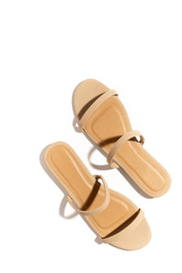 Saint Tropez Double Strap Sandal - Neutral