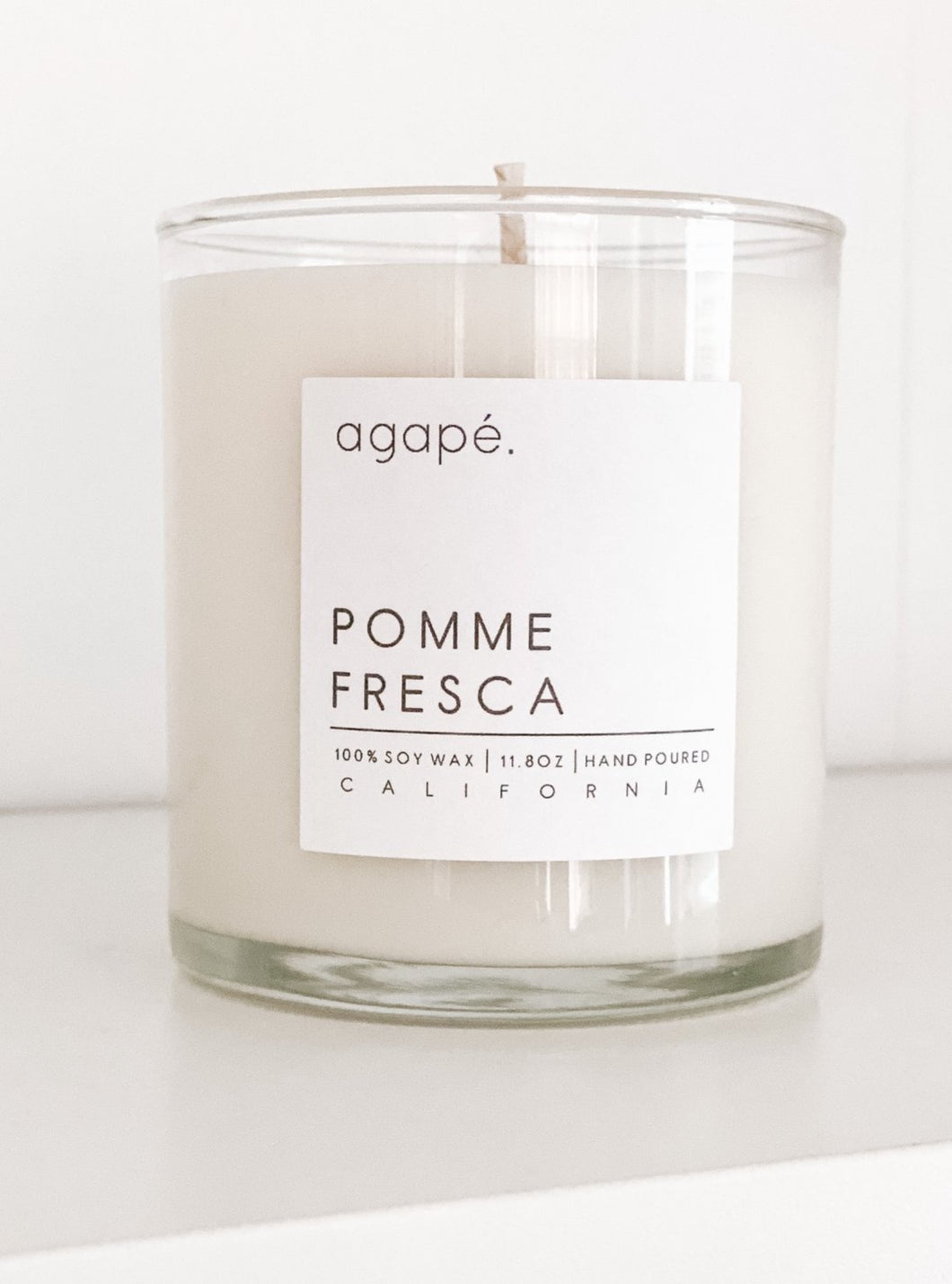 Pomme Fresca Candle - Fall Collection - Agape Candles - 11 oz