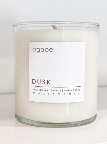 Dusk - Fall Collection - Agape Candles - 11 oz