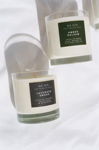 Lavender Smoke - Na Nin - 8 oz Candle - Limited Edition